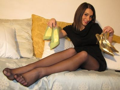 Italian Black Pantyhose videos